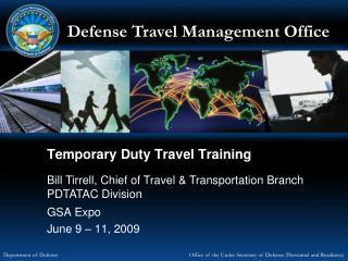 Temporary Duty Travel Training