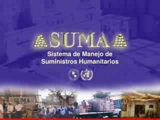 Sistema de Manejo de                  Suministros Humanitarios