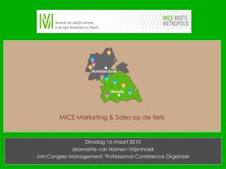 MICE Marketing & Sales op de fiets