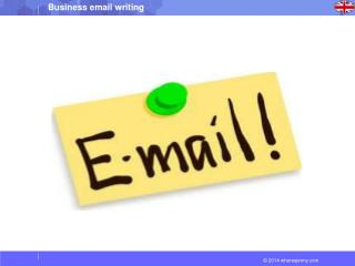 How to Write a Business  Email: $  Know  whom you'll be writing the email to.