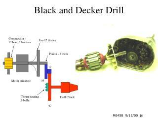 Black and Decker Drill