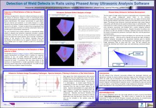 Detection of Weld Defects in Rails by Ultrasonic Software