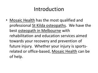 Mosaic Health