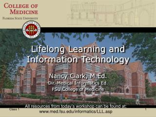 Lifelong Learning and Information Technology