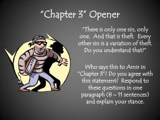 """Chapter 3"" Opener"