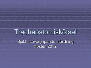 Tracheostomiskötsel