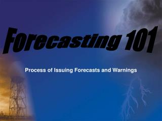 Process of Issuing Forecasts and Warnings