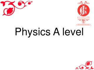 Physics A level