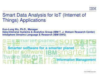 As  IoT  applications become more pervasive, there is a real-time big data explosion