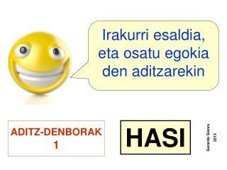 ADITZ-DENBORAK 1