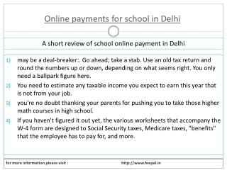 How to post free ads online payment for school in Delhi