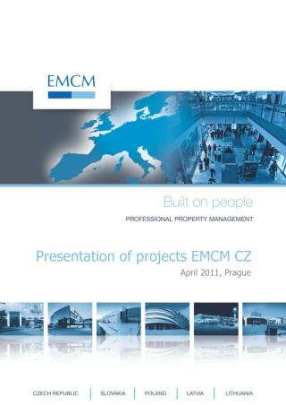 Presentation of projects EMCM CZ
