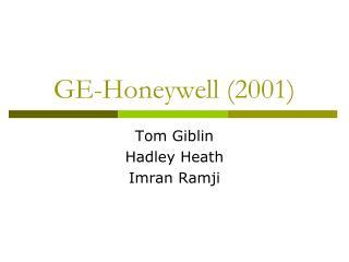 GE-Honeywell (2001)
