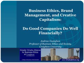 Business Ethics, Brand Management, and Creative Capitalism: