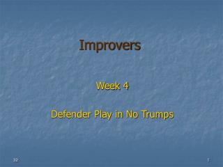 Improvers