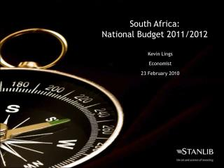 South Africa: National Budget 2011