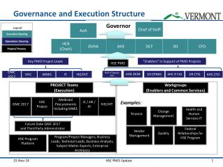 Governance and Execution Structure