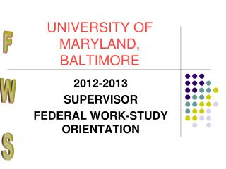 UNIVERSITY OF MARYLAND, BALTIMORE