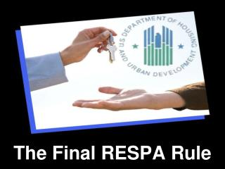 The Final RESPA Rule