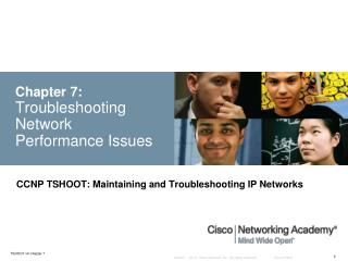 Chapter 7: Troubleshooting Network Performance Issues