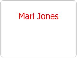 Mari Jones