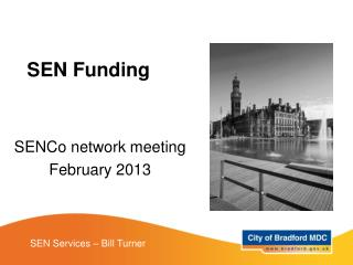 SENCo network meeting  February 2013