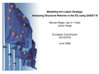 Modelling the Lisbon Strategy:  Analysing Structural Reforms in the EU using QUEST III
