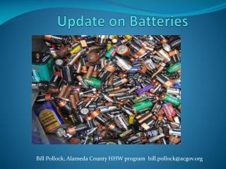 Update on Batteries
