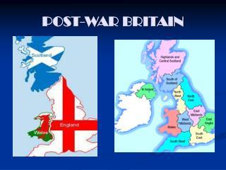 POST-WAR BRITAIN