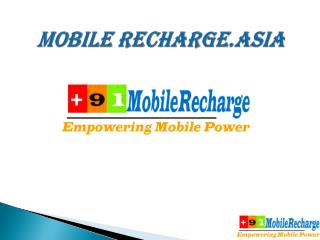 MOBILE RECHARGE.ASIA