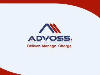 About AdvOSS Product Portfolio Partnership Opportunities and benefits