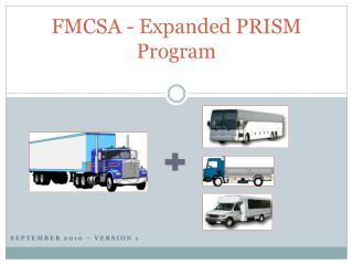 FMCSA - Expanded PRISM Program