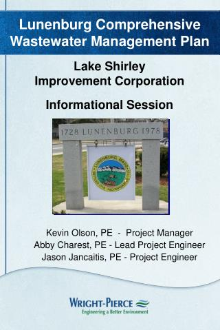 Lake Shirley Improvement Corporation Informational Session