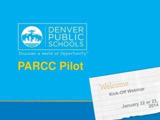 PARCC Pilot