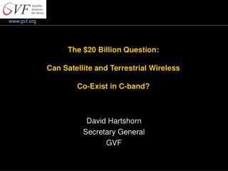 The $20 Billion Question: Can Satellite and Terrestrial Wireless Co-Exist in C-band?