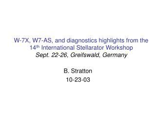 B. Stratton 10-23-03
