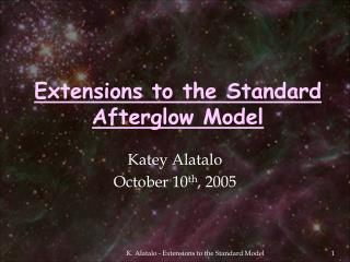 Extensions to the Standard Afterglow Model
