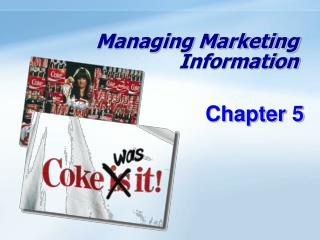 Managing Marketing Information