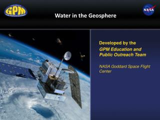 Water in the Geosphere