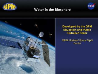 Water in the Biosphere