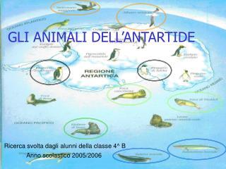 GLI ANIMALI DELL�ANTARTIDE