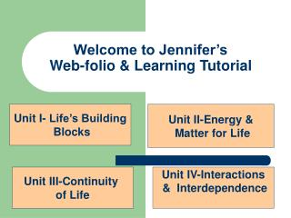Welcome to Jennifer