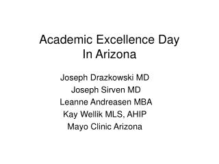 Academic Excellence Day In Arizona