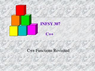 C++ Functions Revisited