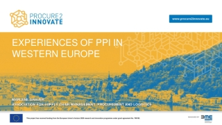 Green Public Procurement EU Strategy
