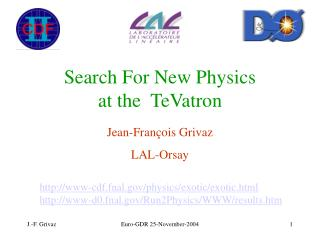 Search For New Physics  at the  TeVatron