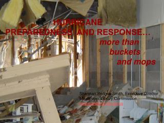PREPARATION AND RESPONSE: