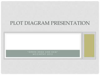 Plot Diagram Presentation
