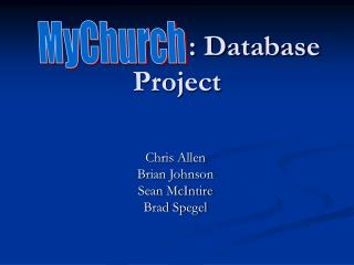 : Database Project