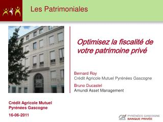 Cr�dit Agricole Mutuel Pyr�n�es Gascogne  16-06-2011